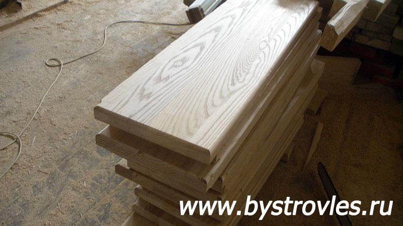 Деревянные ступени для лестниц: монтаж своими руками