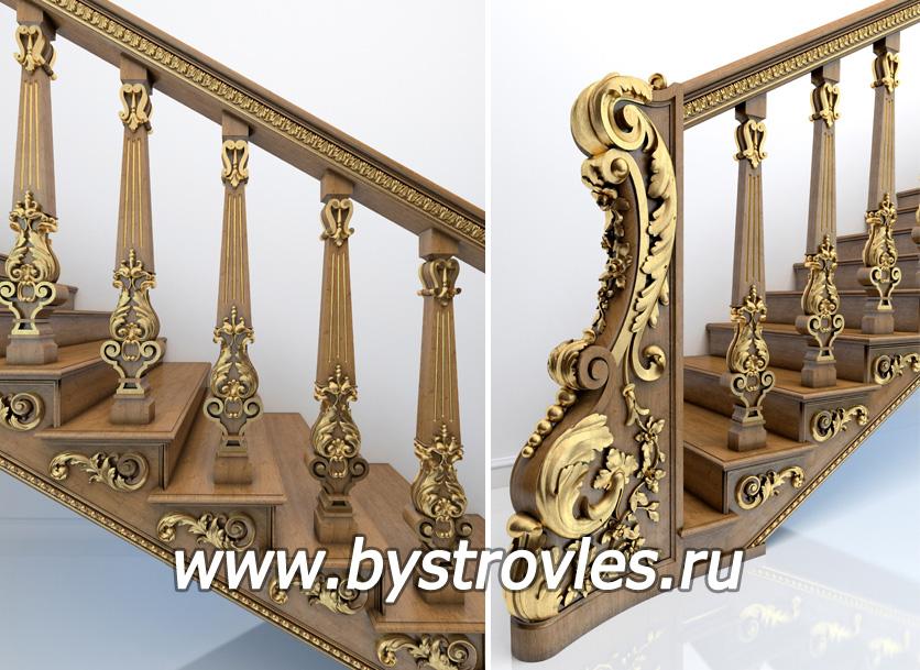Лестницы из дерева в Кемерово Скидки! - Фабрика